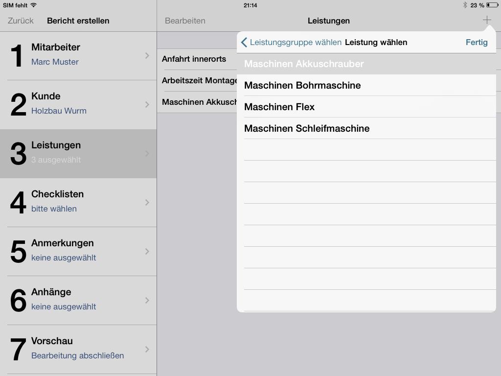 Servicereport Pro - Leistungsnachweise mit dem iPad erstellen
